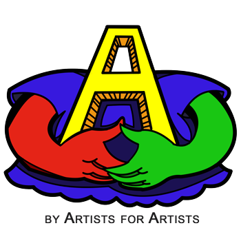 By Artists For Artists logo