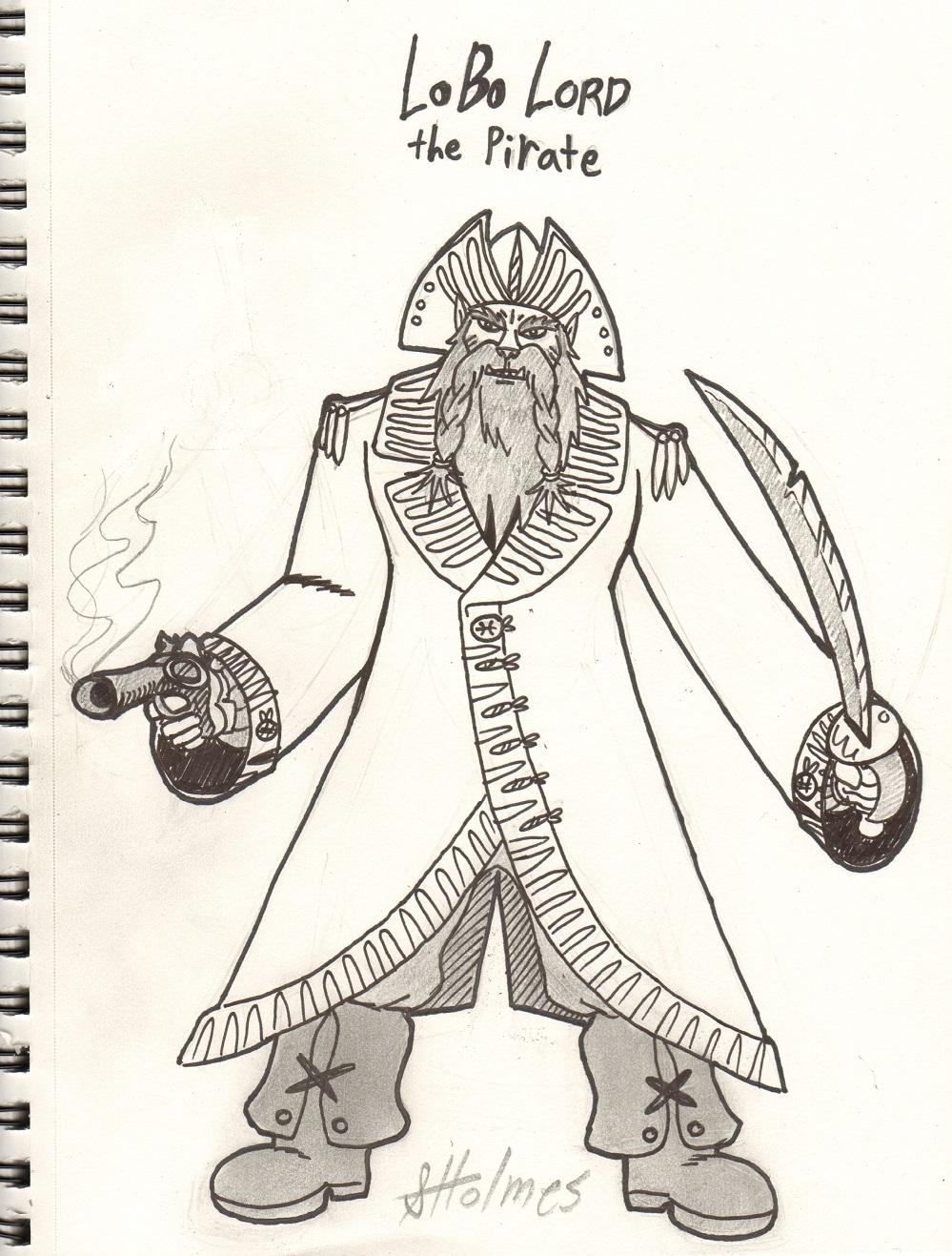 Lobo Lord the pirate