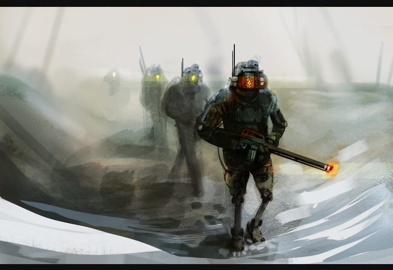 Off to the war