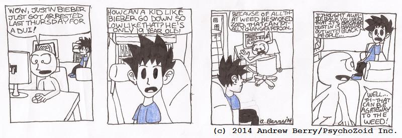 Psych & Friends Comic Strip #4
