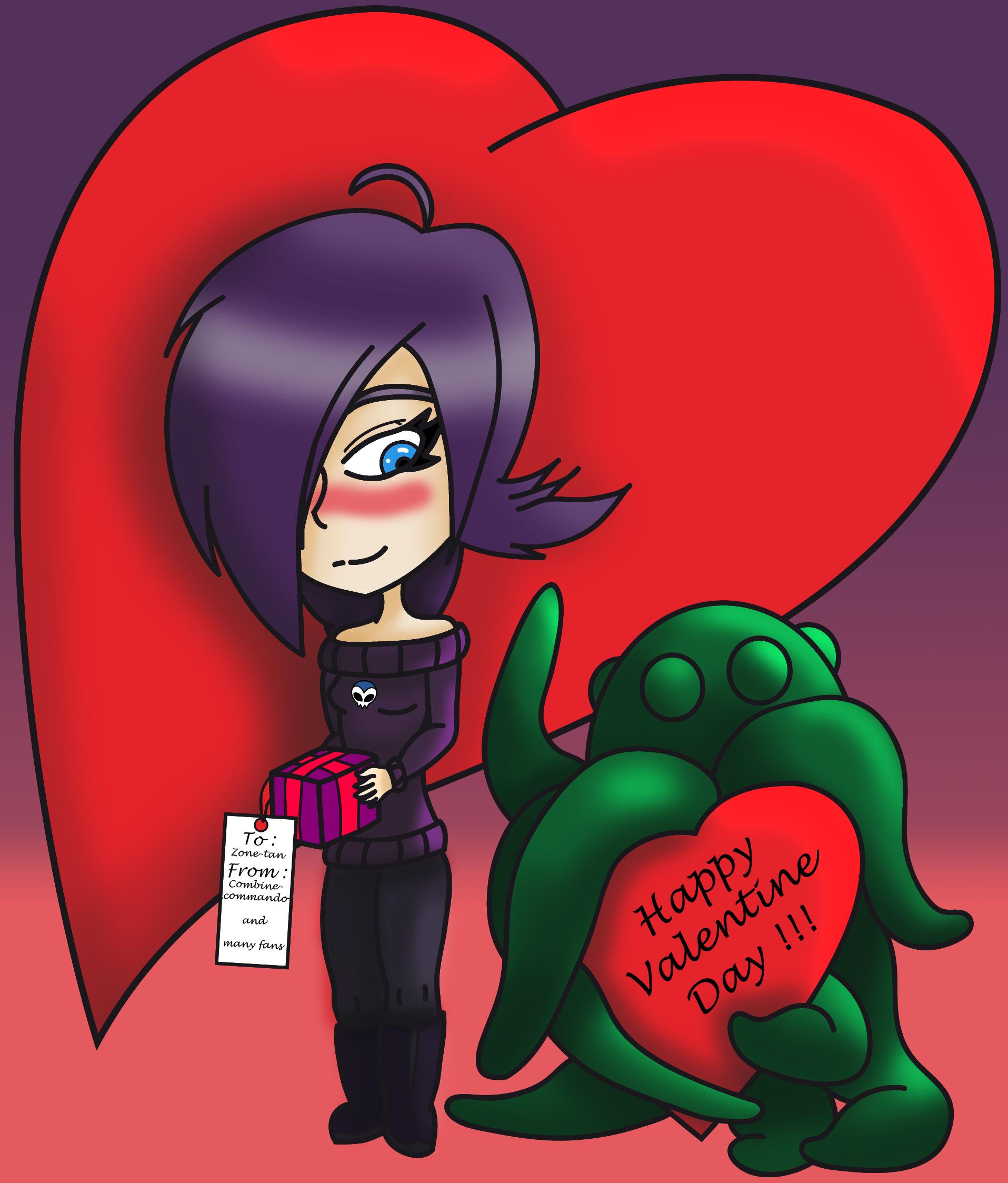 Valentine day Zone-tan