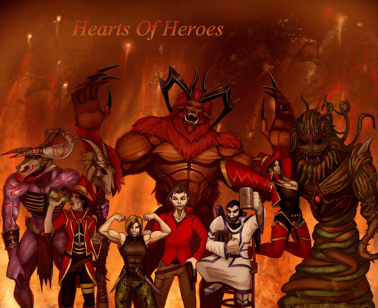Hearts of heroes