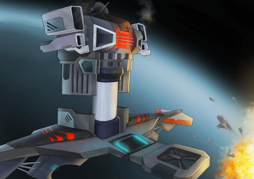 flying turret