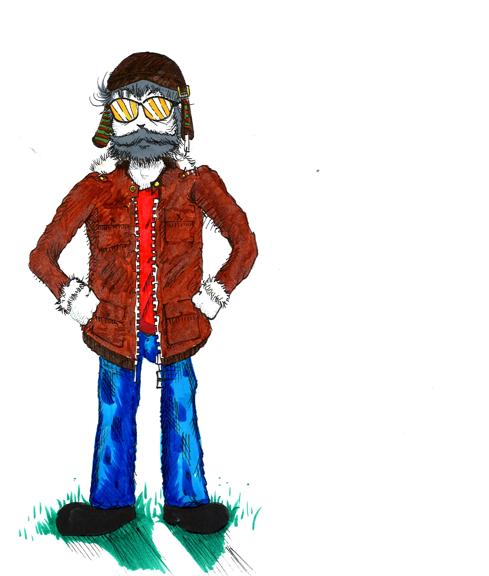 Graphic Novel Character Commis