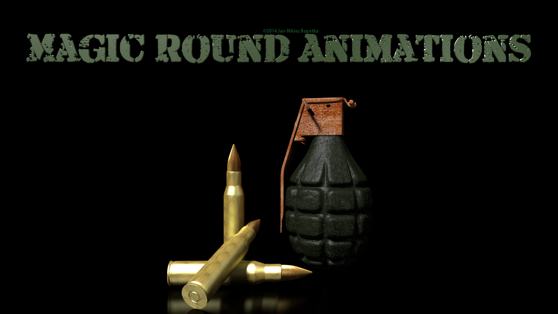 Magic Round Animations Logo
