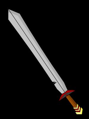 Simple Sword Drawing