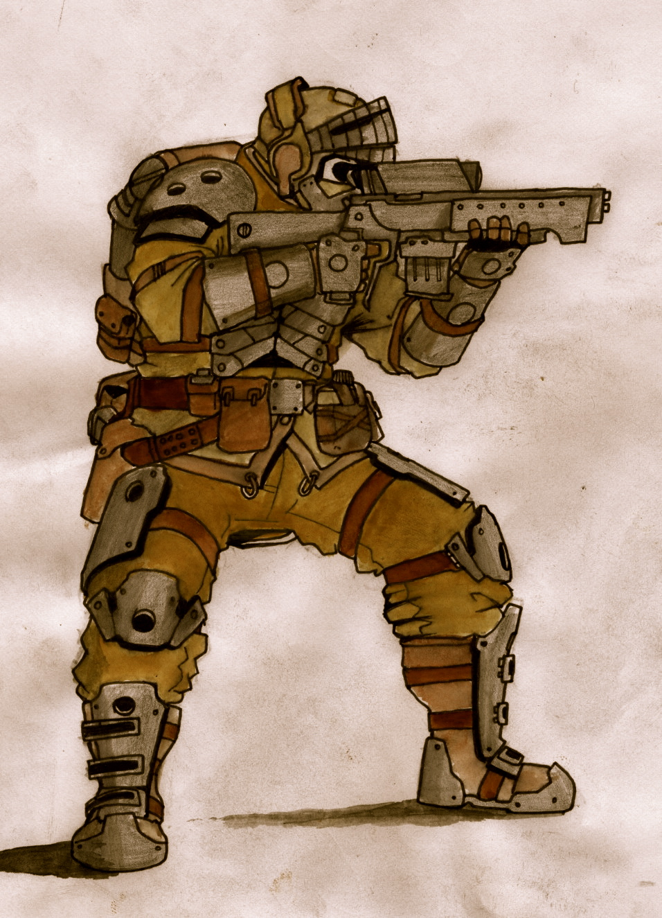 desert soldier