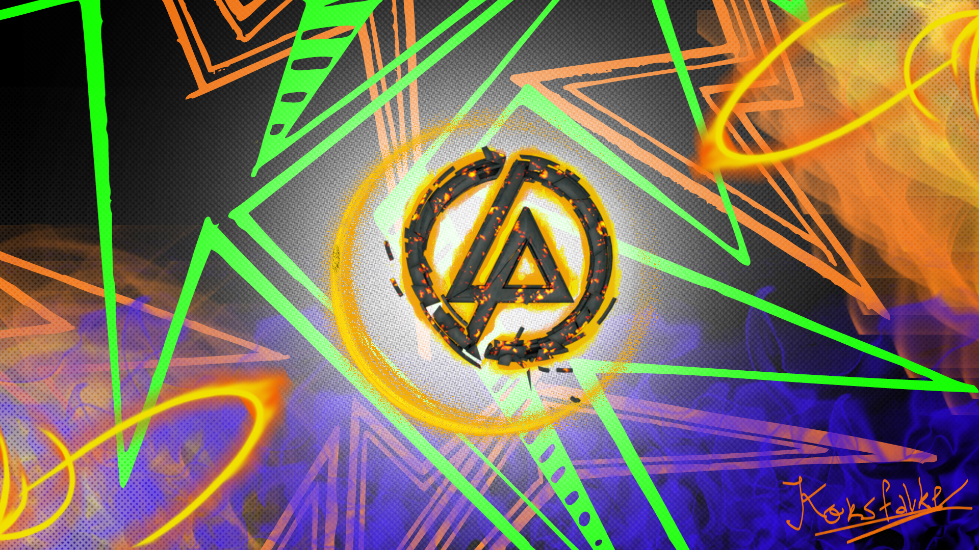 Linkin Park Wallpaper by me