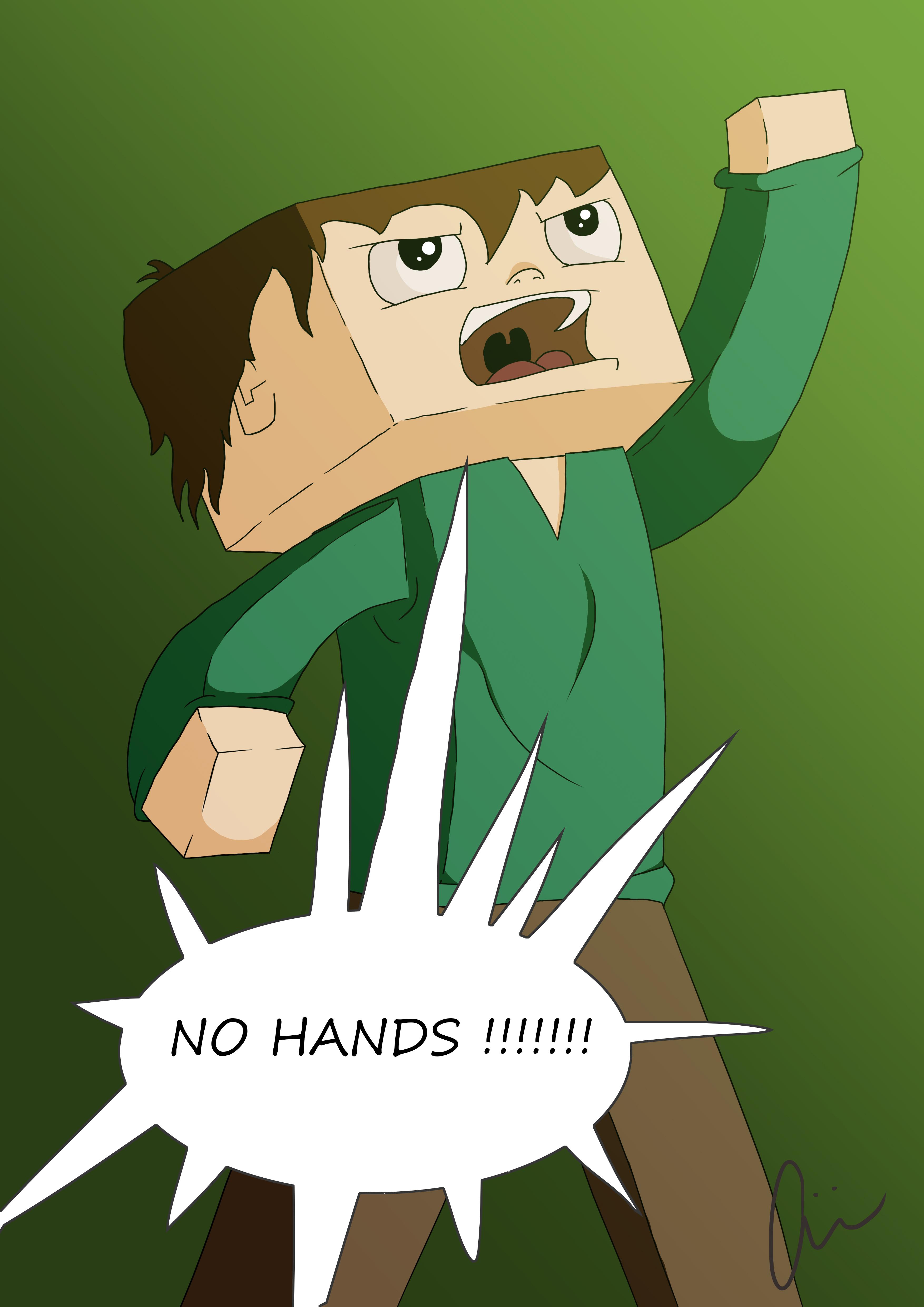 No Hands!!!!!