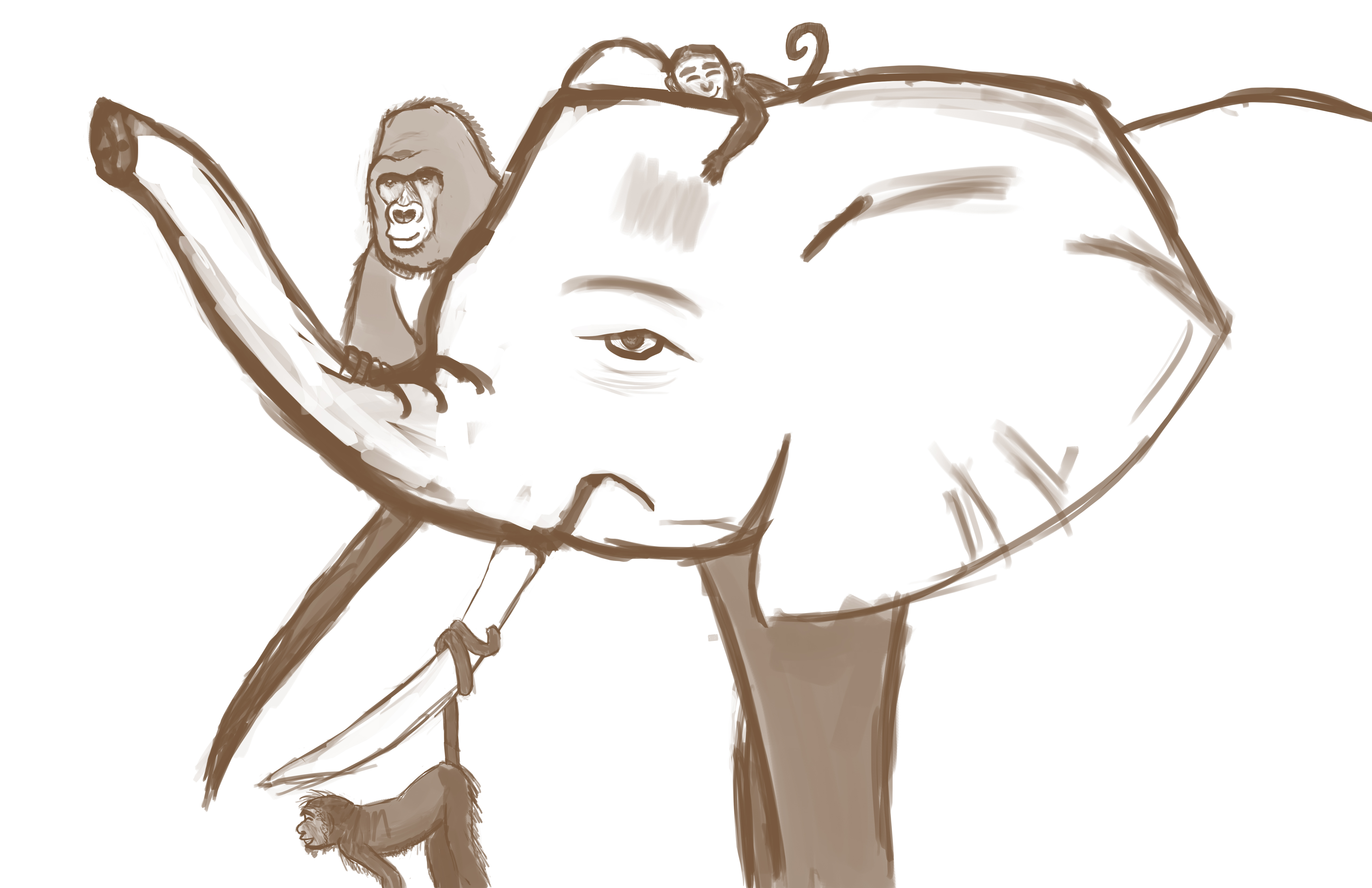 Perturbed Pachyderm