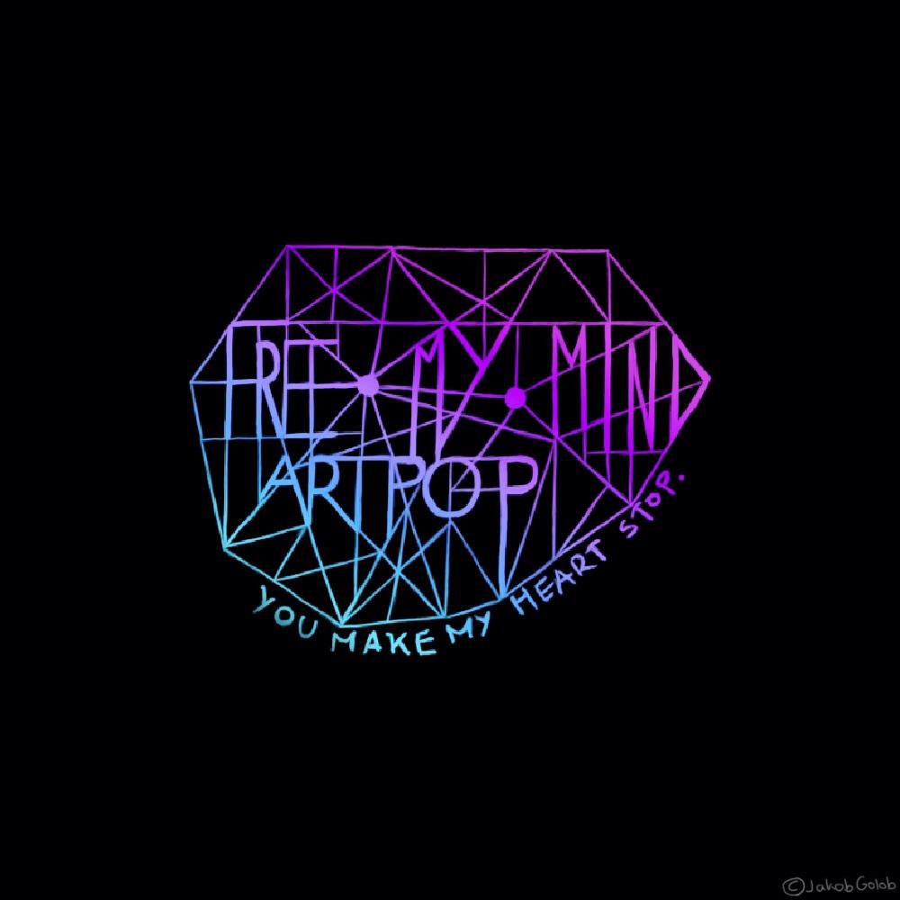 FreeMyMindARTPOP - Typography