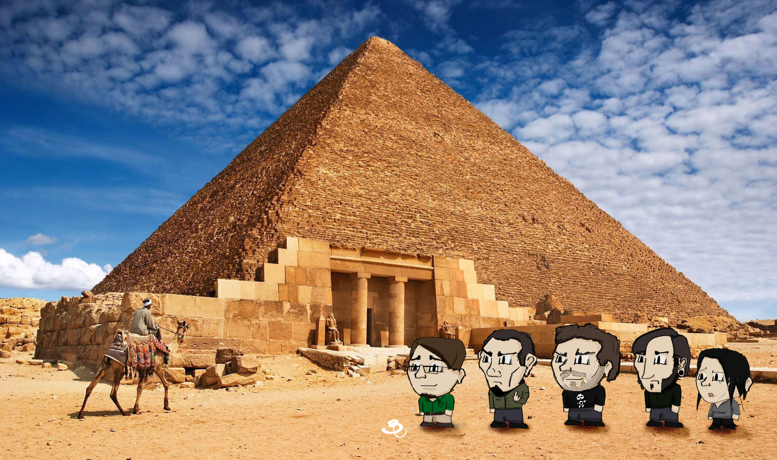 House members in Egypt