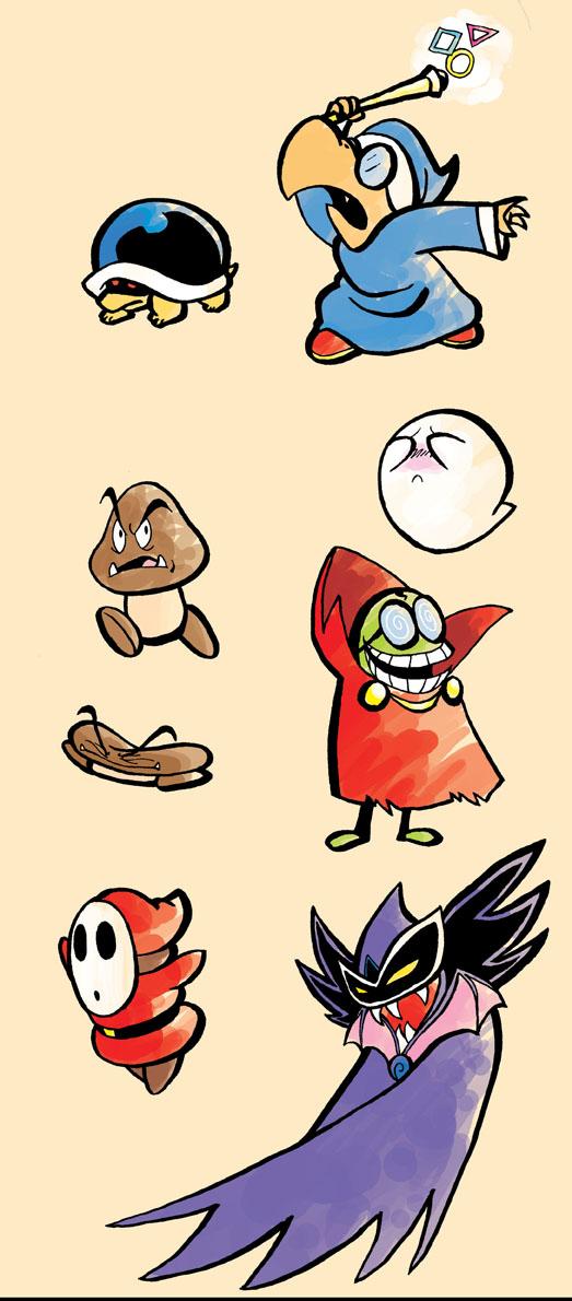 Mario Baddies