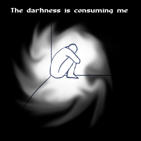 The darkness consumes