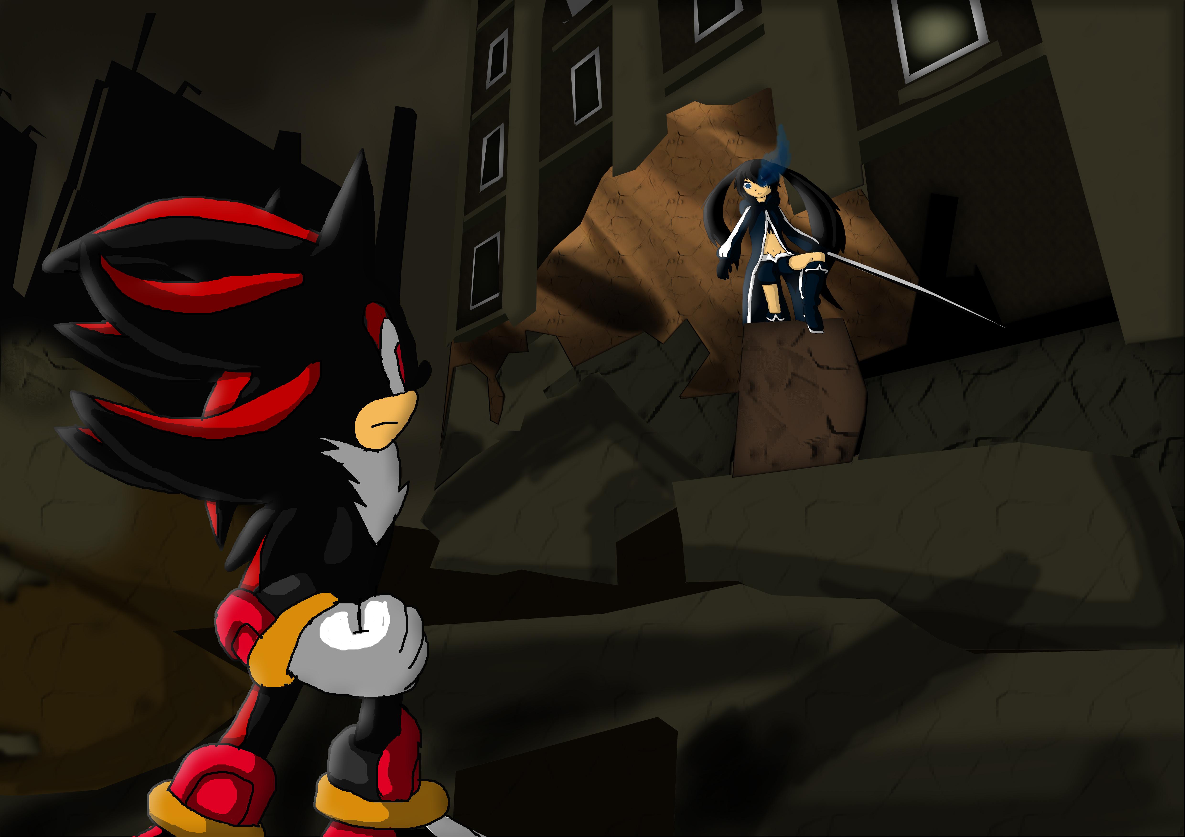 Shadow vs. Black Rock Shooter
