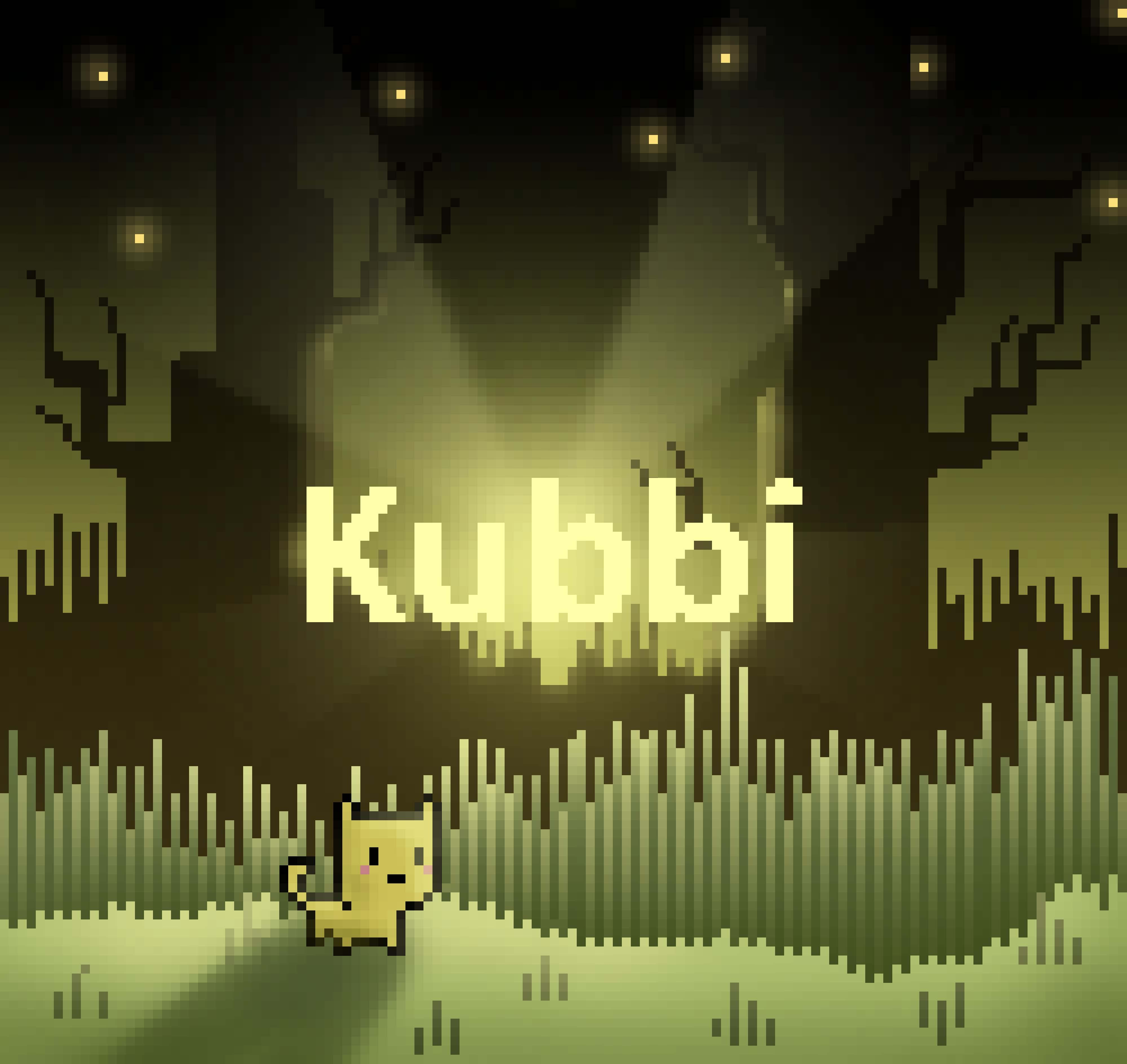 Kubbi in the woods