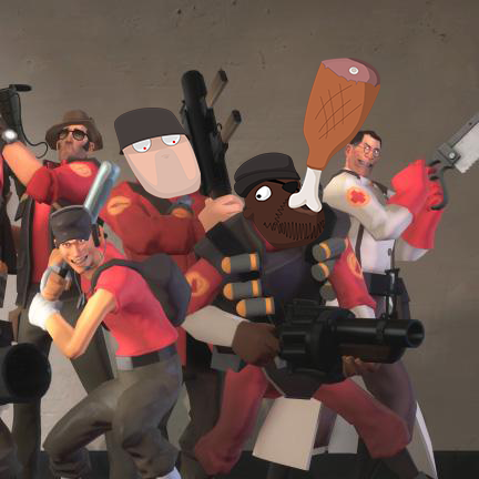 TF2 Demoman and Soldier