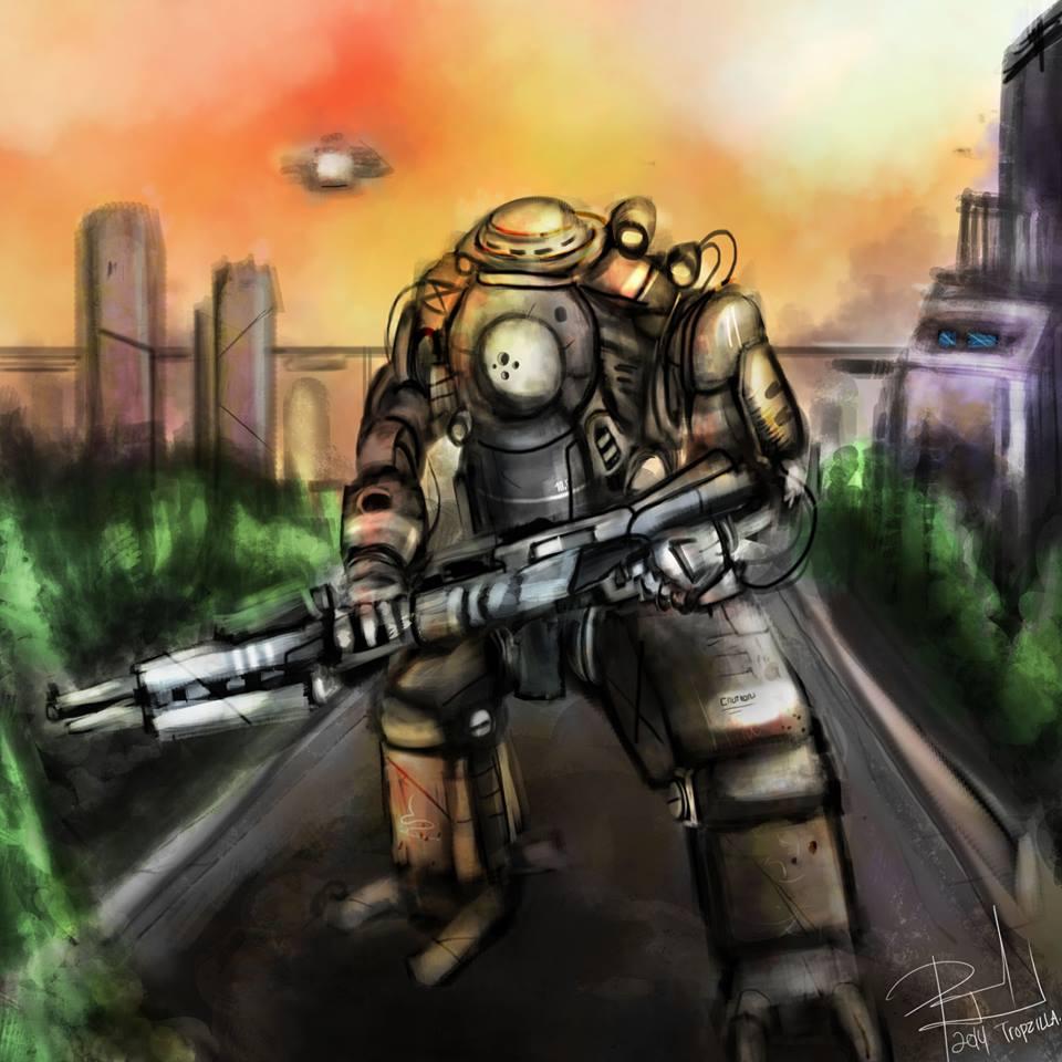 TITAN FALL ROBOT 3