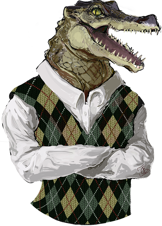 Argyle Alligator
