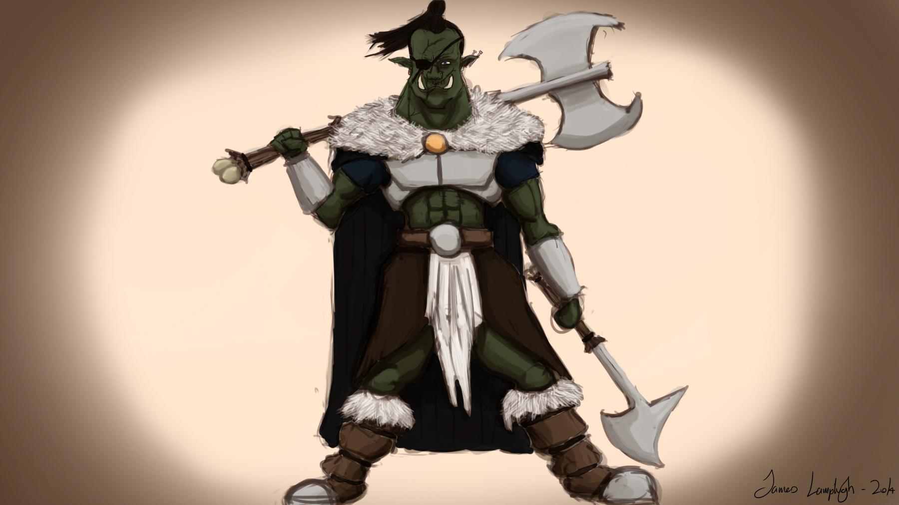 Ork Warrior