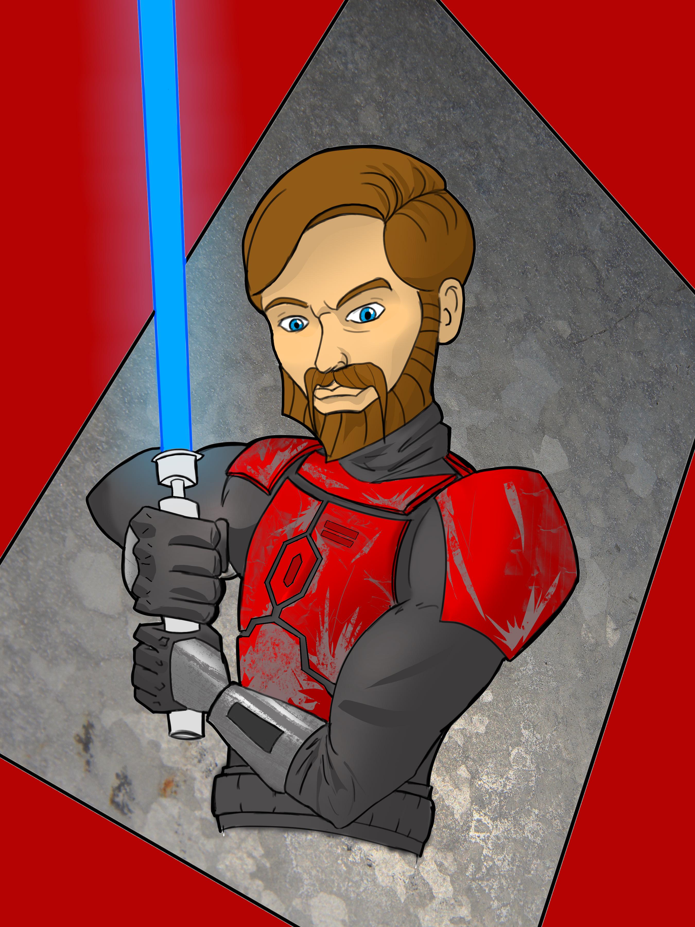 Obi wan rocking the red