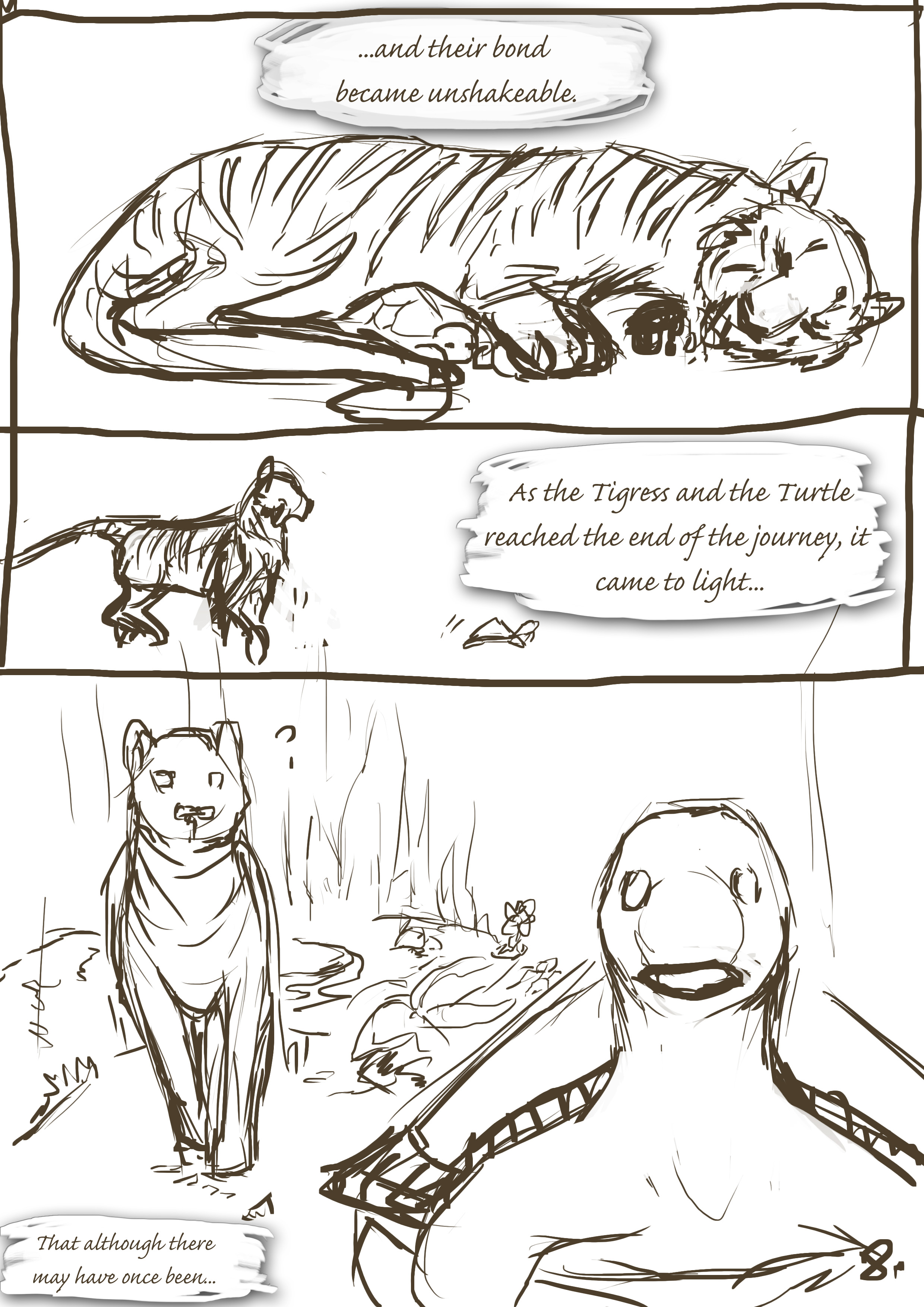 The Turtle and The Tigress 8