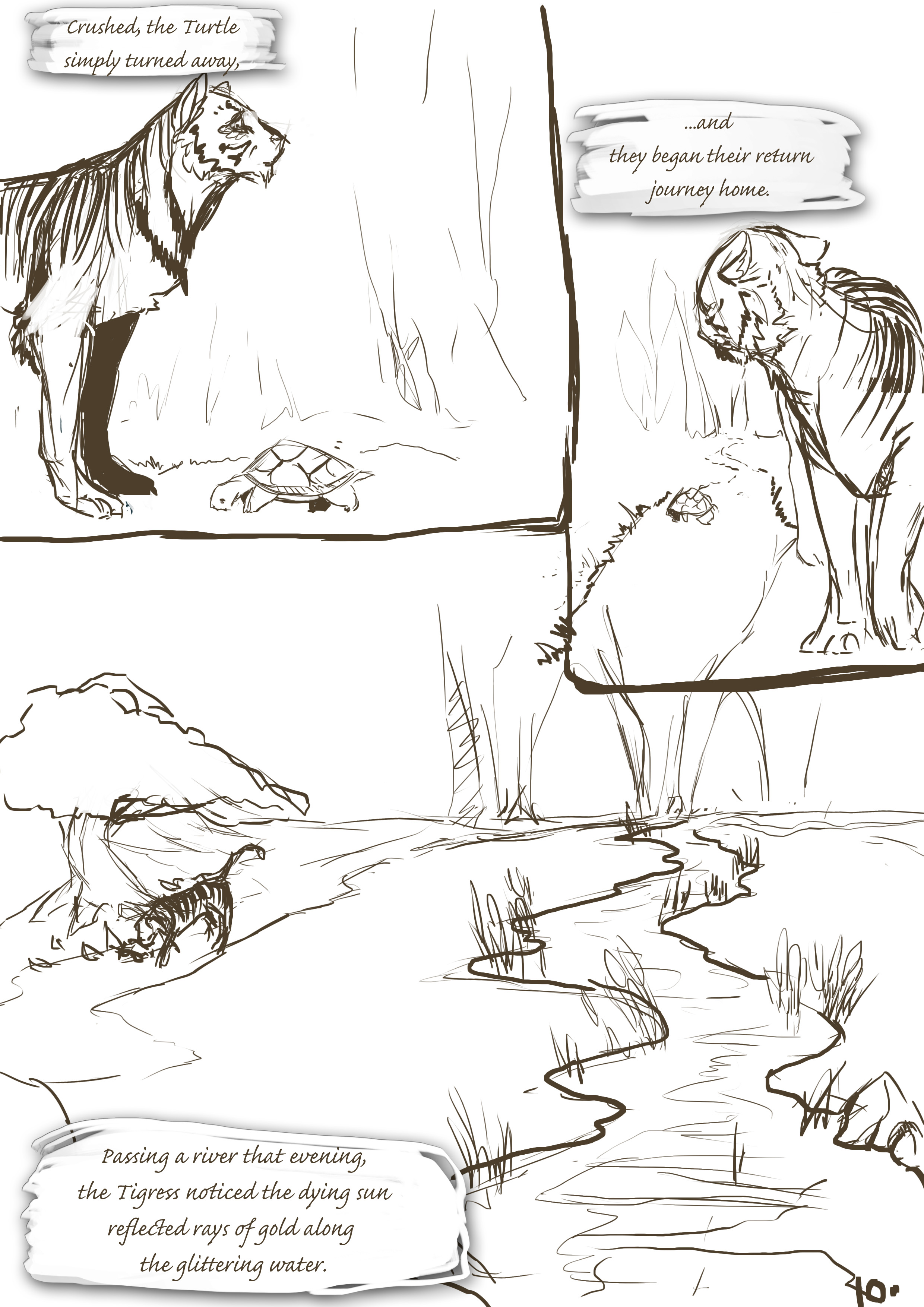 The Turtle and The Tigress 10
