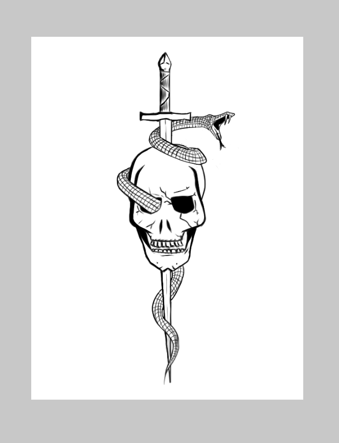 the skull of death