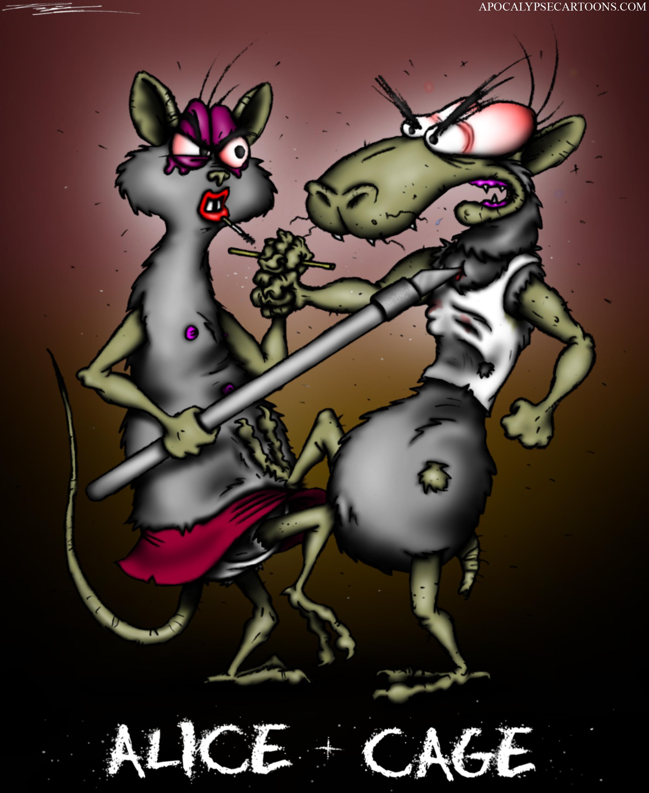Rats on Cocaine portrait