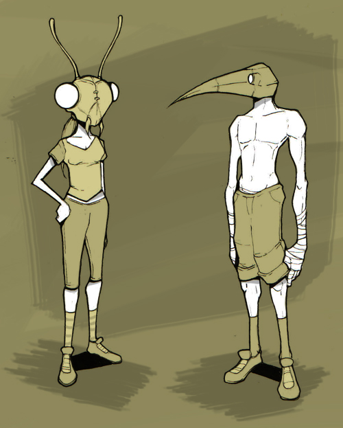 Mantis and Oizo
