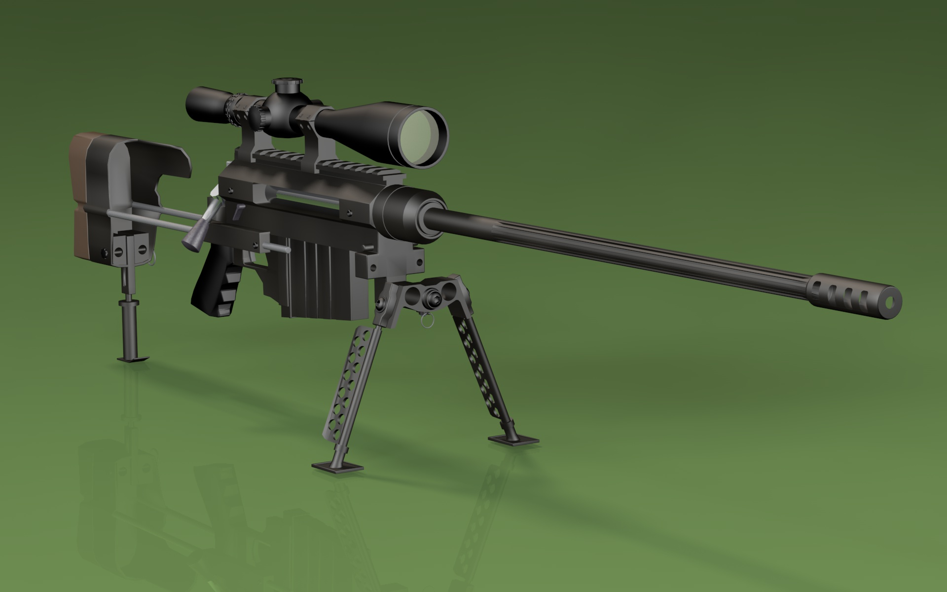 Windrunner M96 Sniper Rifle