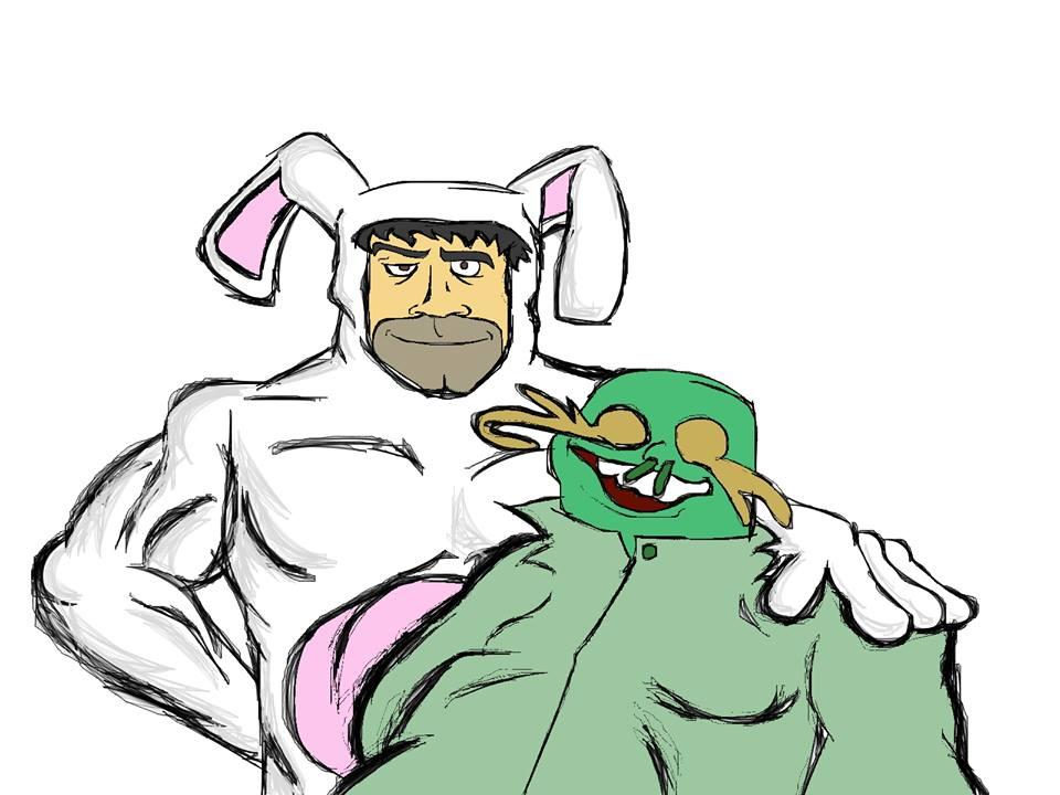Señor Conejin y Mutantin