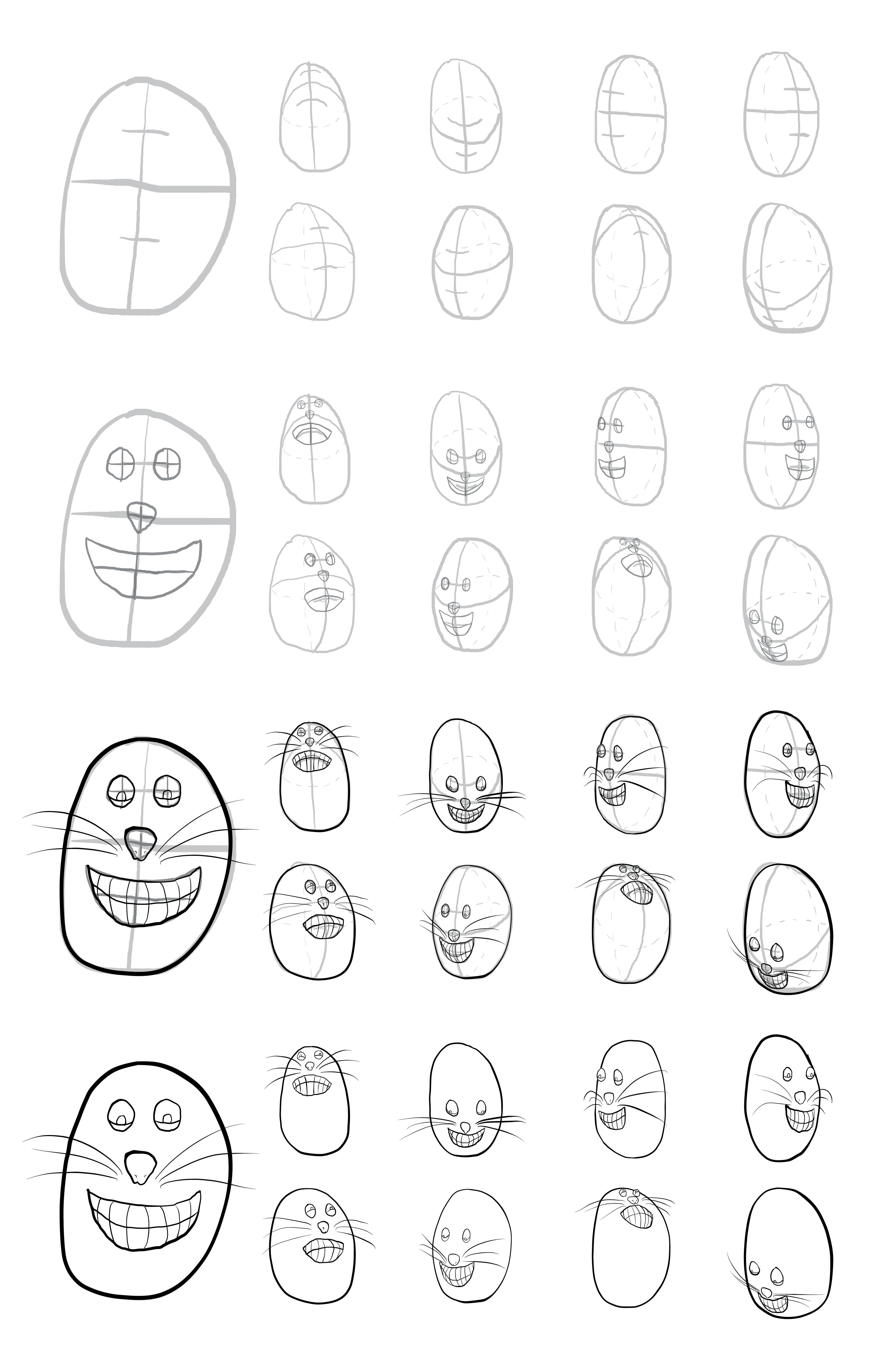 Cartoon Head Test 01
