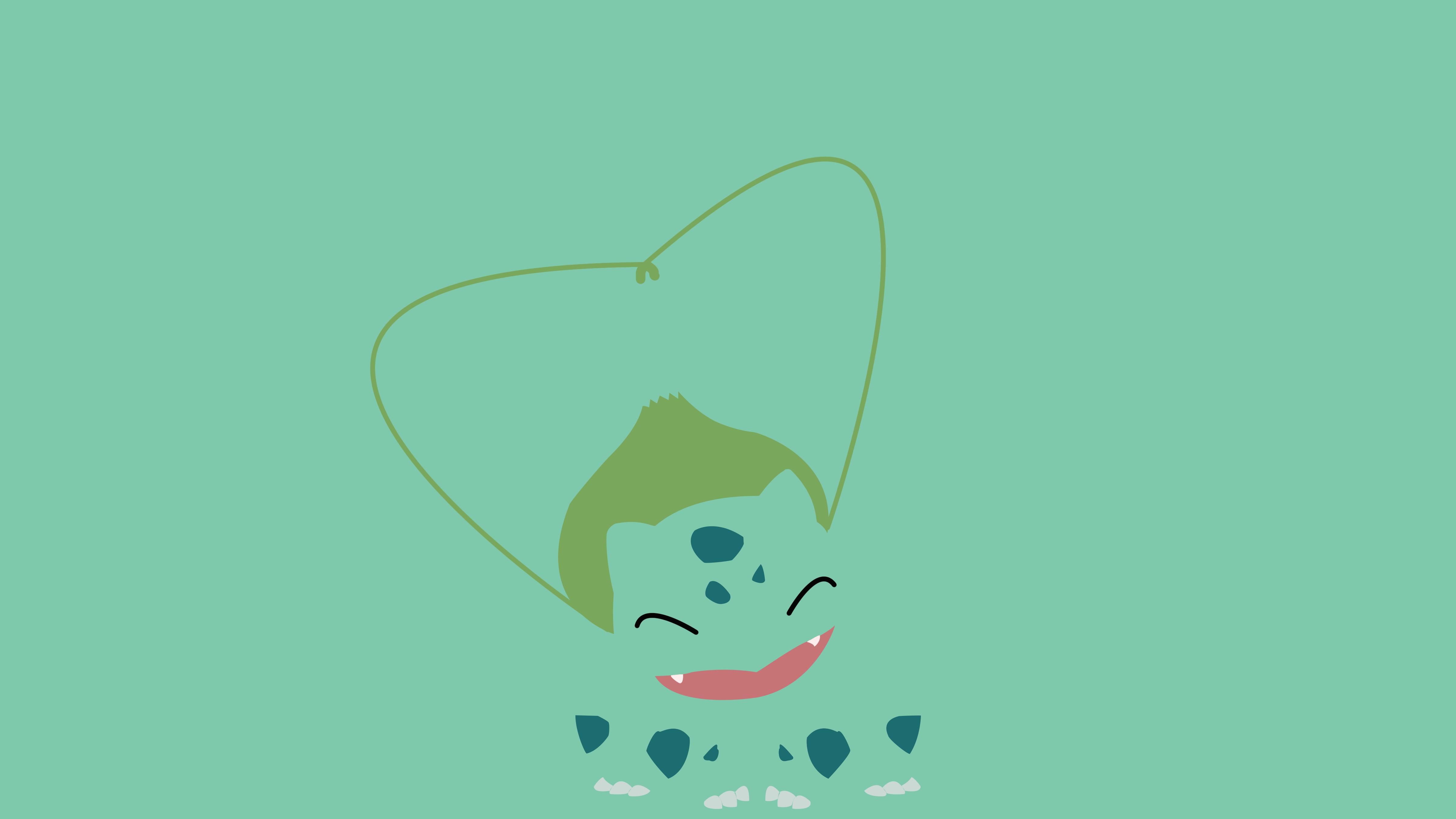 Minimalist Bulbasaur