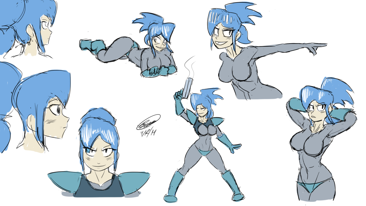 Lolo Practice Sketches