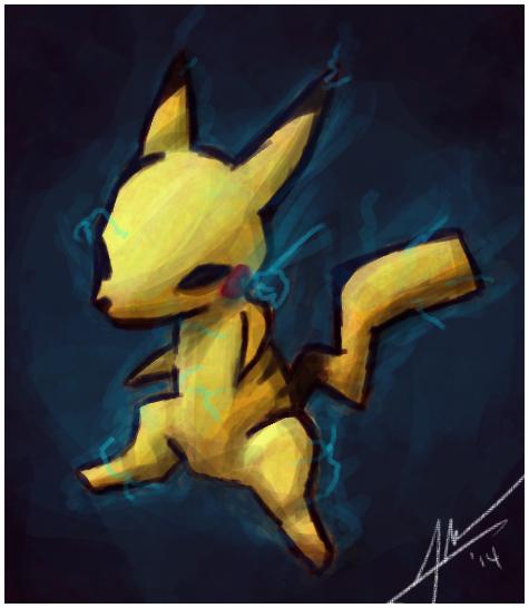 Pikachuuuuuu!