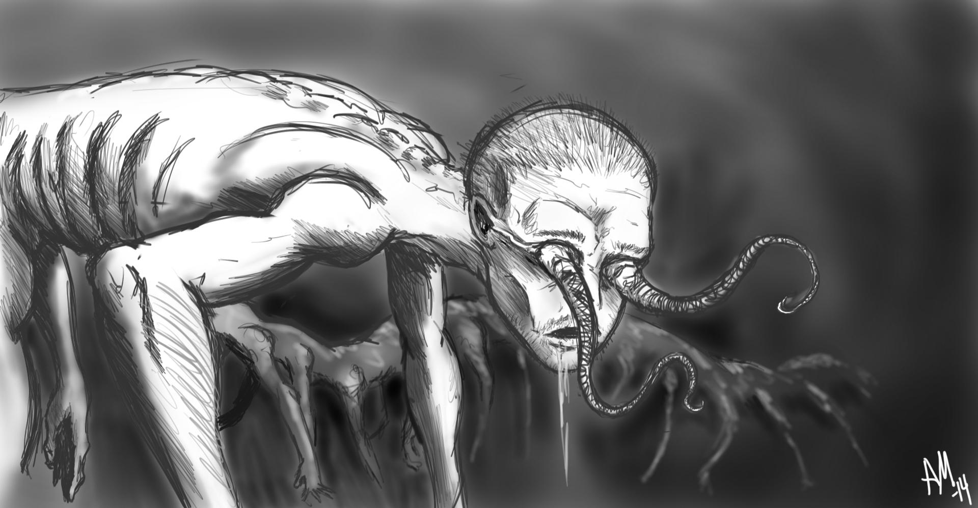 Centipede Man