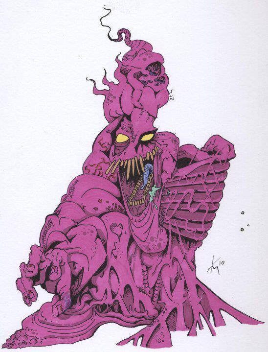 Bubblegum Monster