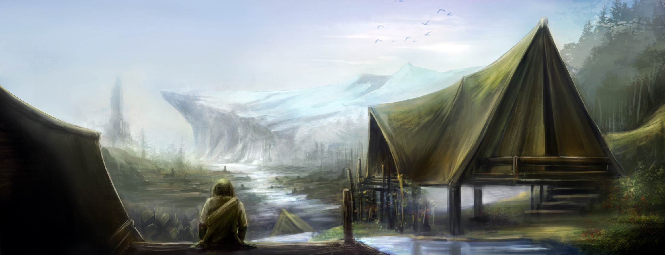 Chapter 2: Desolated Village