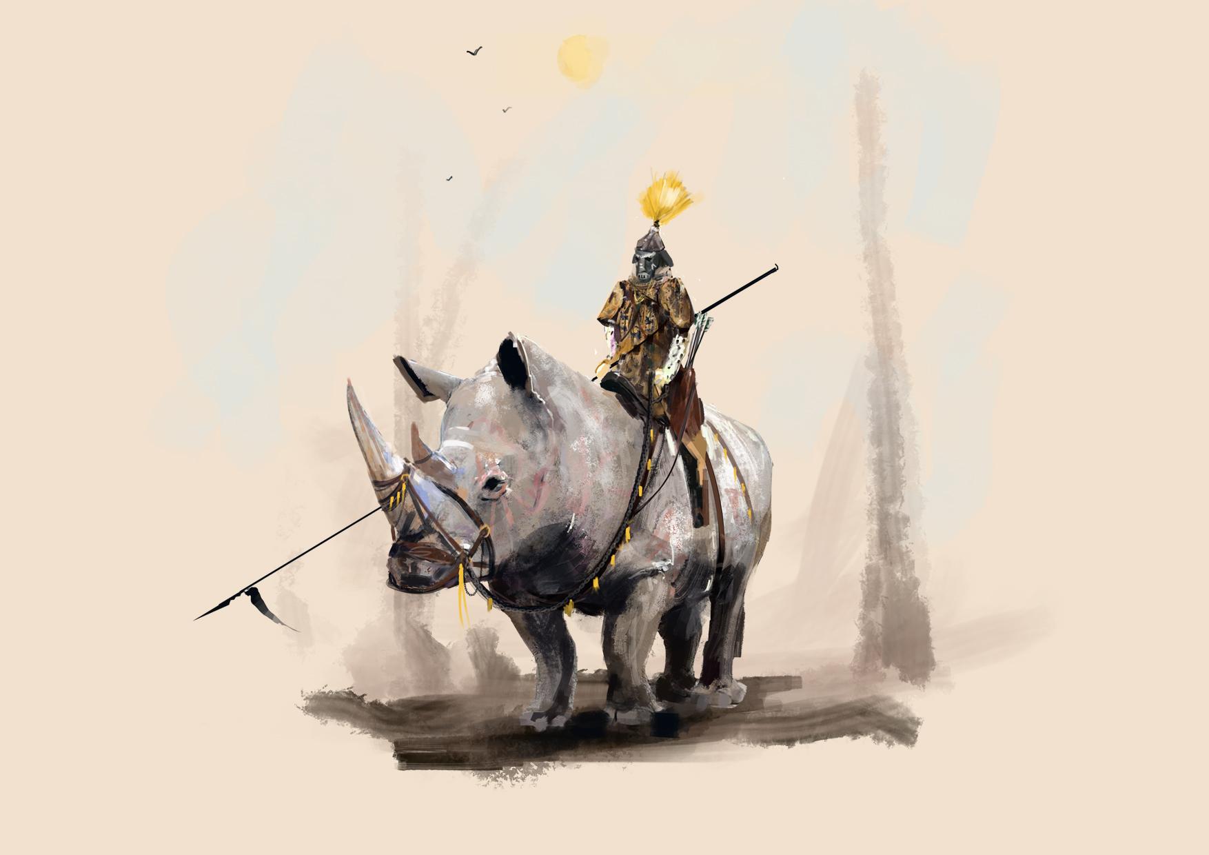 Rhino Knight!!