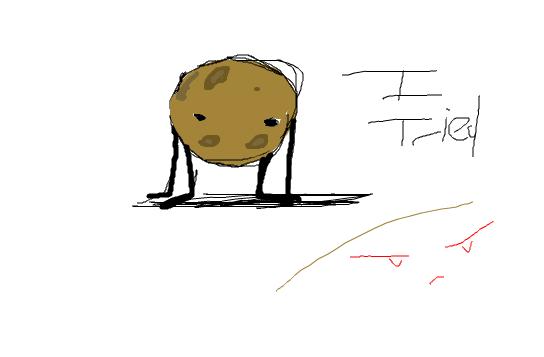 Guys, Its a potato.