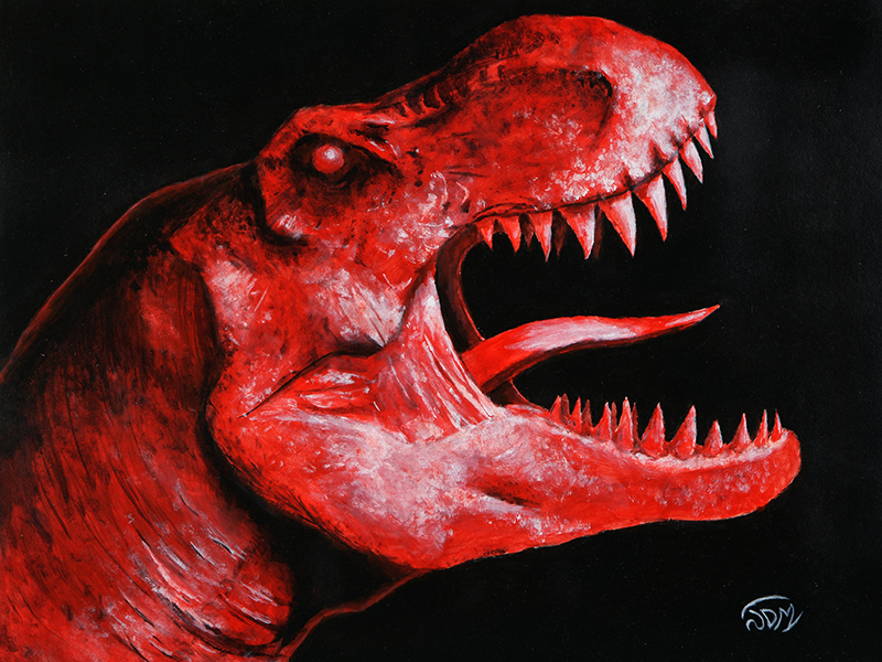 Raging T Rex By Rushlightinvader On Newgrounds