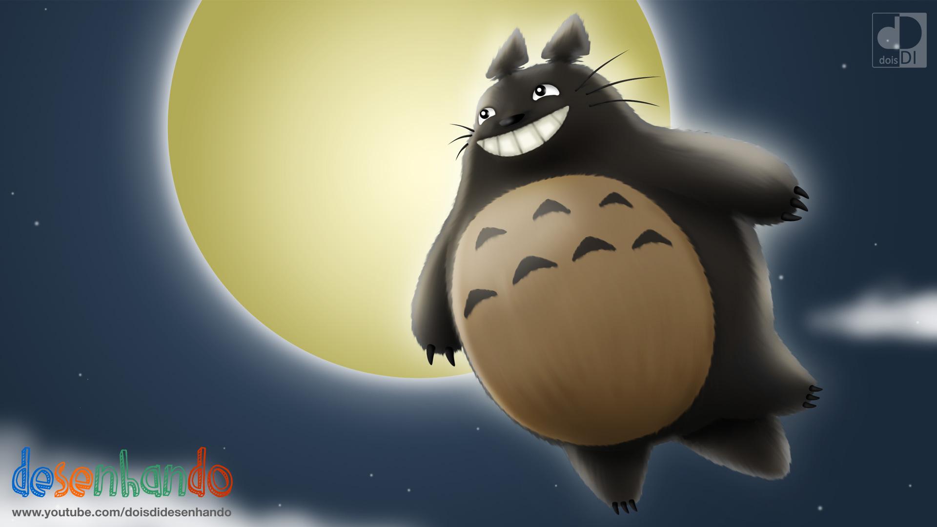 Flying Totoro