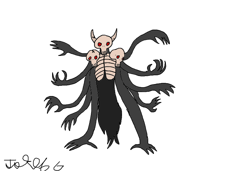 Tri-headed demon