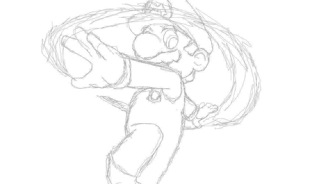 Mario Galaxy Sketch