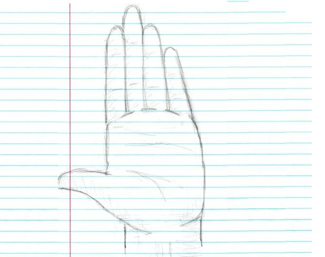 Open Palm Hand thing