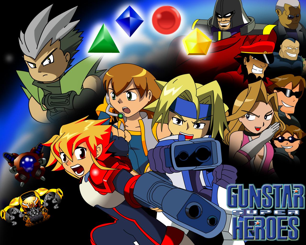 Gunstar Super Heroes
