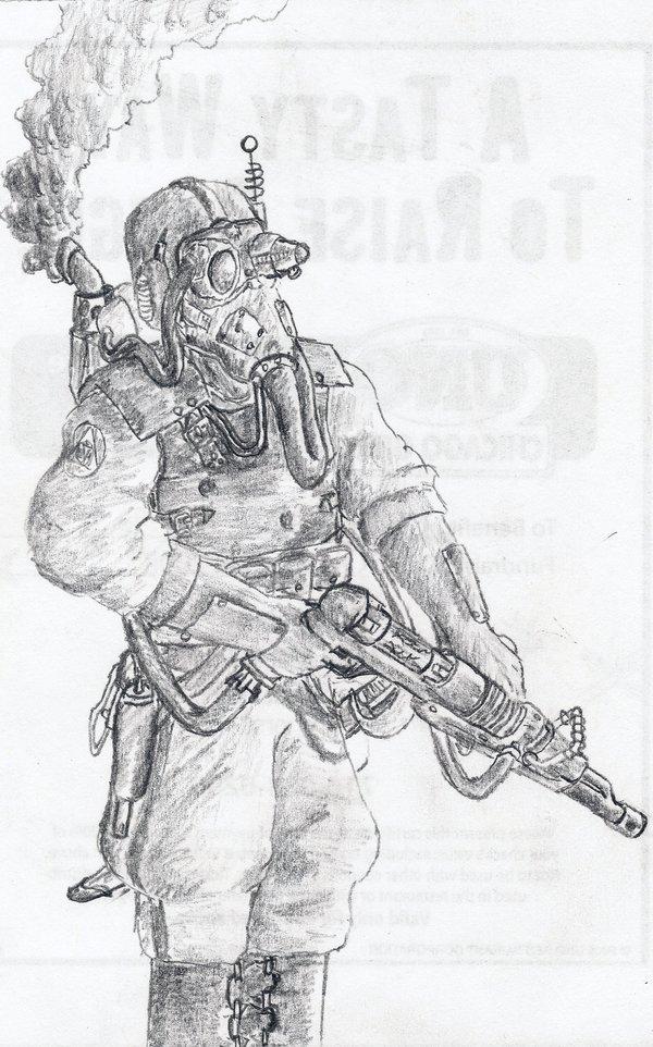 Steampunk Raygunner