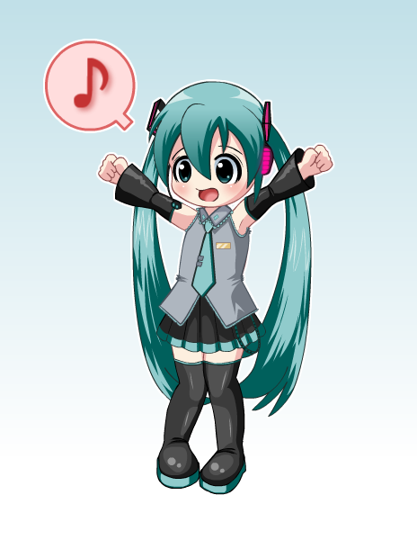 Little Vocaloid Miku