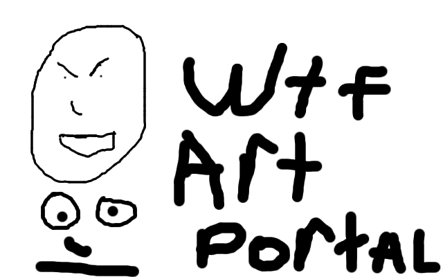 my reaction to the art portal
